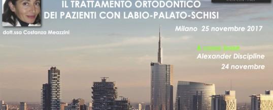 Meeting Autunnale ADSC 25 novembre MILANO con la Dott.ssa Costanza Meazzini