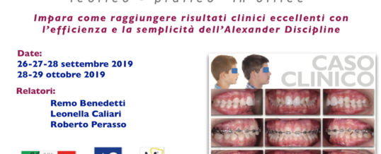 "CORSO ALEXANDER DISCIPLINE ""in office"" – Settembre/Ottobre 2019"